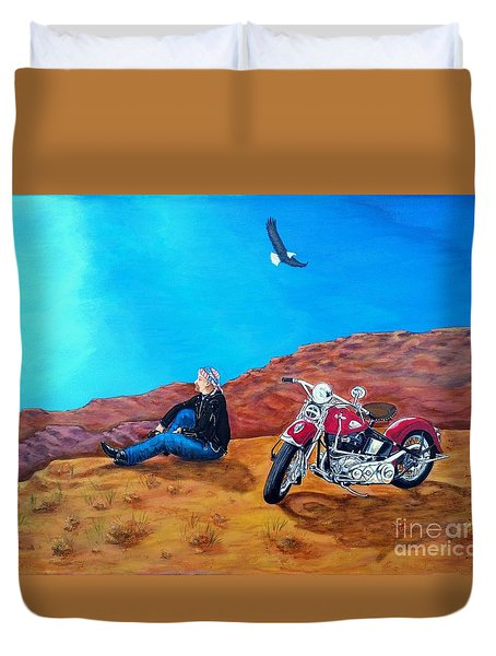 Spirit Eagle Duvet Cover