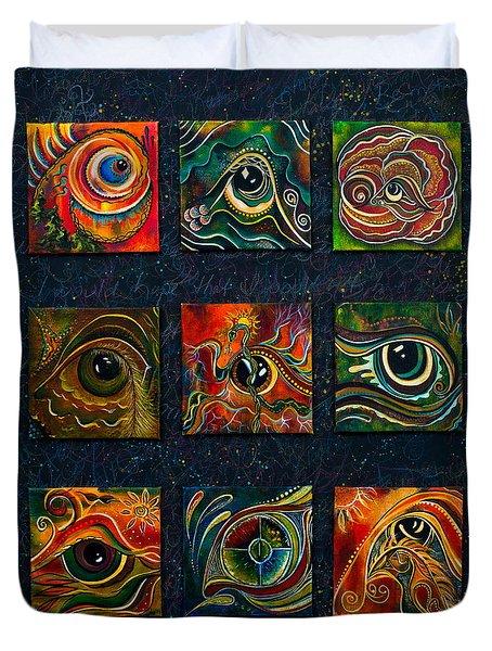 Spirit Eye Collection I Duvet Cover