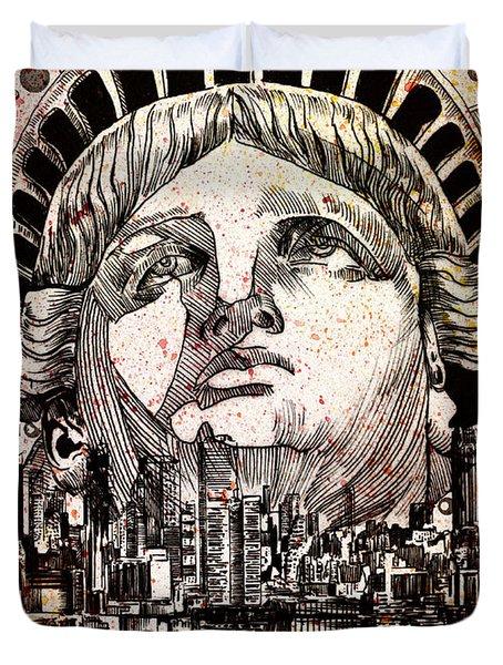Spirit Of The City 3 Duvet Cover