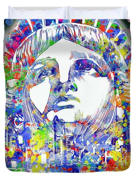 Spirit Of The City 4 Duvet Cover