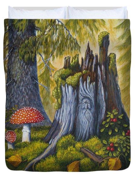 Spirit Of The Forest Duvet Cover by Veikko Suikkanen