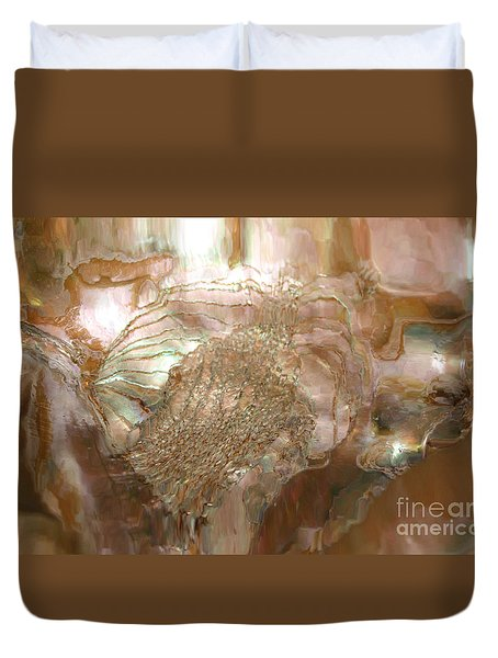 Duvet Cover featuring the photograph Spirit Of The Soul by Sherri  Of Palm Springs