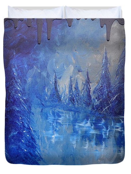 Spirit Pond Duvet Cover