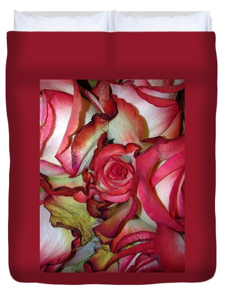 Spirited Rose  Duvet Cover
