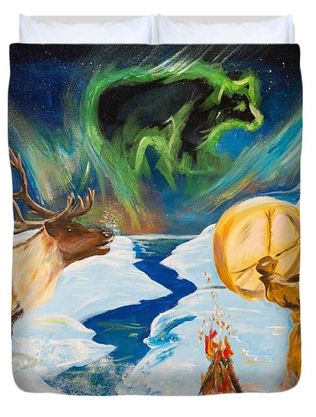 Spirits Call Duvet Cover