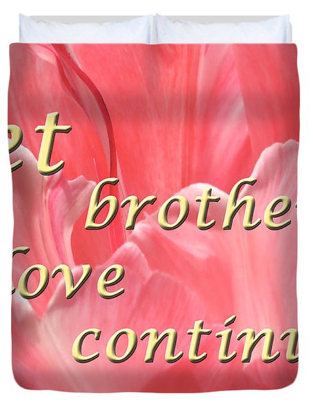 Spiritual Love Duvet Cover