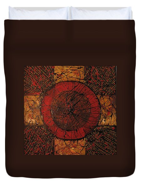 Spiritual Movement Duvet Cover