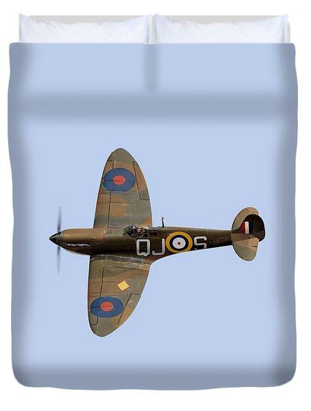 Spitfire Mk 1 R6596 Qj-s Duvet Cover by Gary Eason