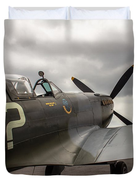 Spitfire On Display Duvet Cover