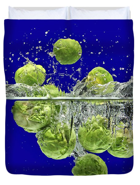 Splash-brussels Sprouts Duvet Cover