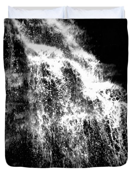 Splash Bushkill Falls Duvet Cover