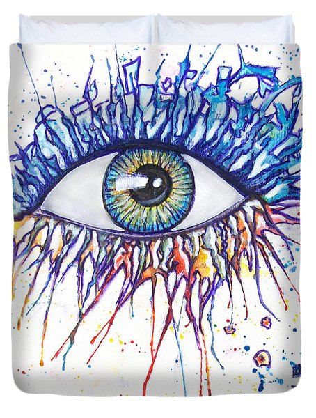 Splash Eye 1 Duvet Cover