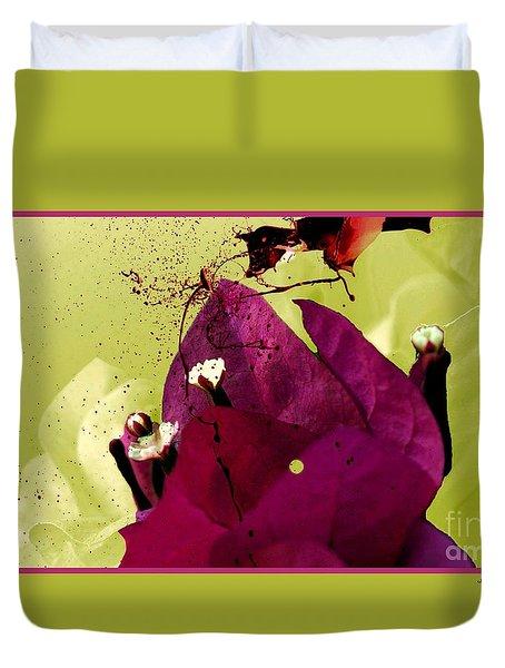 Splash Of Beauty Duvet Cover