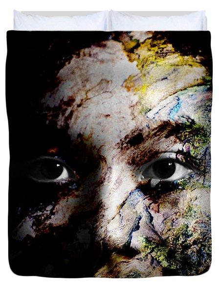 Splash Of Humanity Duvet Cover by Christopher Gaston