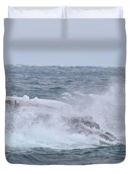Splash On Point Duvet Cover
