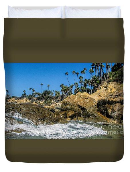 Splash Duvet Cover by Tammy Espino