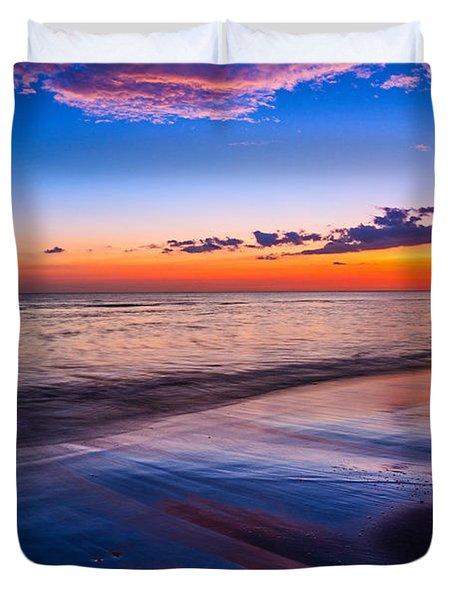 Splashes Of Color - Maui Duvet Cover