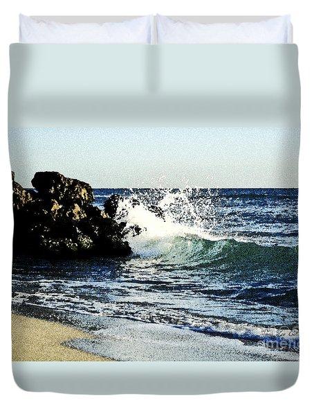 Splashing Wave Duvet Cover
