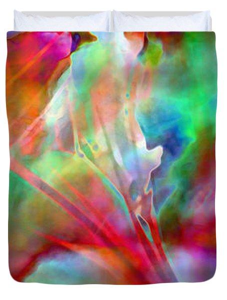 Splendor - Abstract Art Duvet Cover by Jaison Cianelli