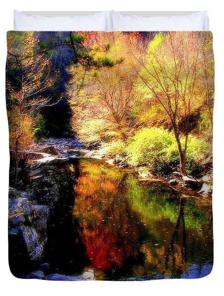 Splendor Of Autumn Duvet Cover