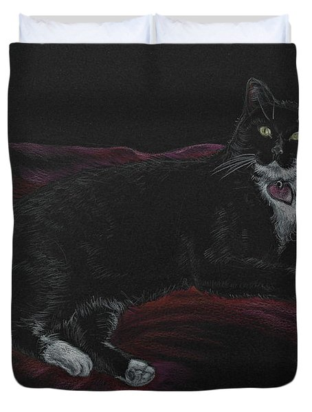Spooky The Cat Duvet Cover