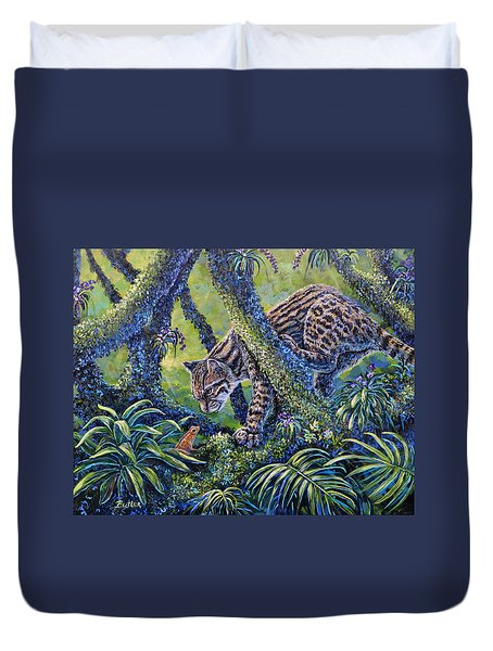 Spotted Duvet Cover by Gail Butler