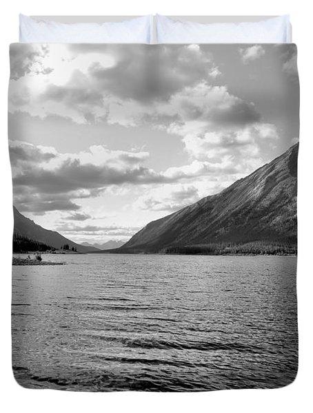 Spray Lake Duvet Cover