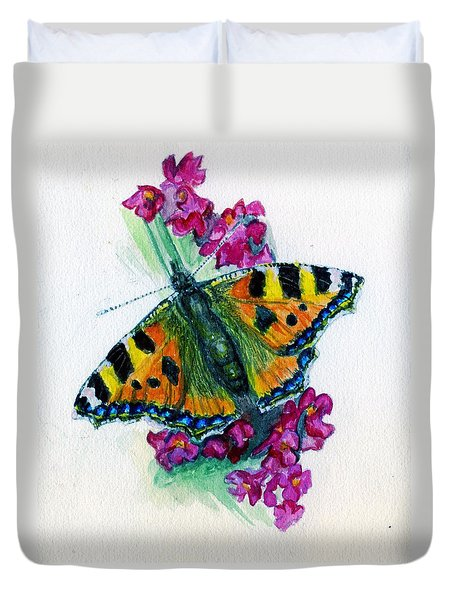 Spreading Wings Of Colour Duvet Cover