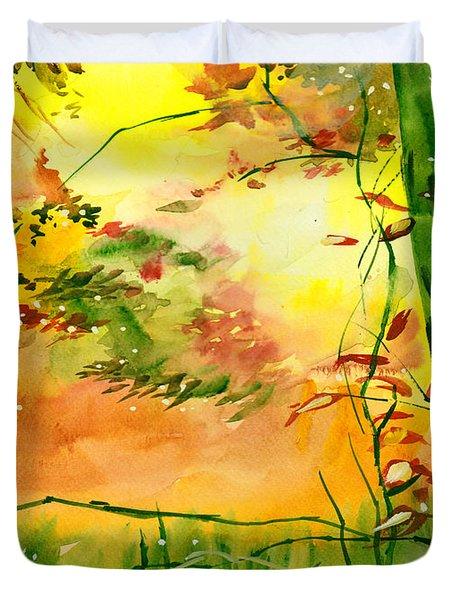 Spring 1 Duvet Cover by Anil Nene