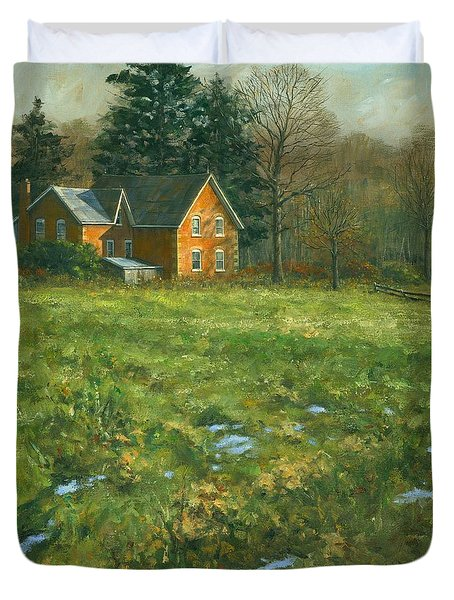 Spring Duvet Cover by Michael Swanson
