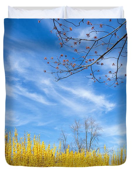 Spring Duvet Cover by Bill Wakeley