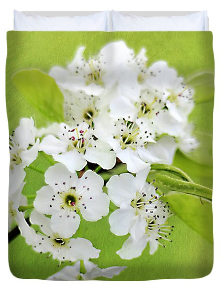Spring Blooms Duvet Cover by Darren Fisher