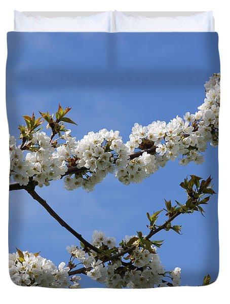 Spring Blossoms 6 Duvet Cover by Carol Lynch
