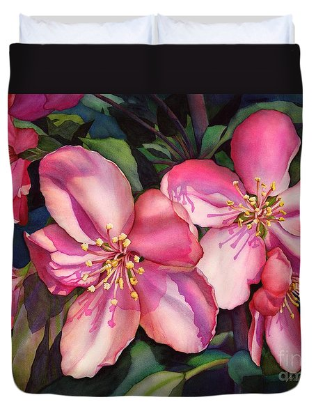 Spring Blossoms Duvet Cover