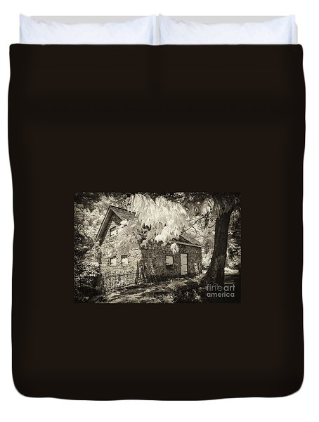 Spring Creek Mill Duvet Cover by Paul W Faust -  Impressions of Light