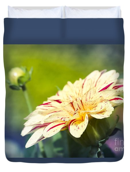 Spring Dream Jewel Tones Duvet Cover