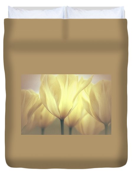 Spring Dreaming Duvet Cover by The Art Of Marilyn Ridoutt-Greene
