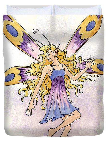 Spring Fairy Duvet Cover