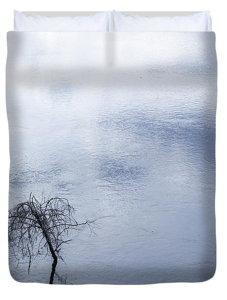 Spring Flood In Georgia Duvet Cover