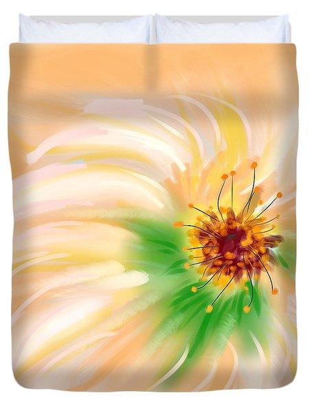 Spring Flower Duvet Cover by Angela A Stanton
