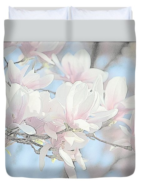 Duvet Cover featuring the photograph Spring Has Arrived 3 by Susan  McMenamin