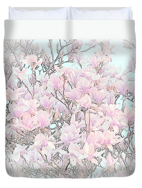 Duvet Cover featuring the photograph Spring Has Arrived I by Susan  McMenamin
