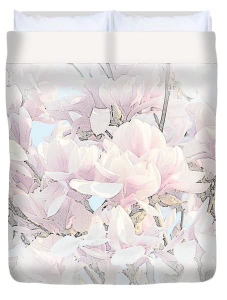 Duvet Cover featuring the photograph Spring Has Arrived II  by Susan  McMenamin