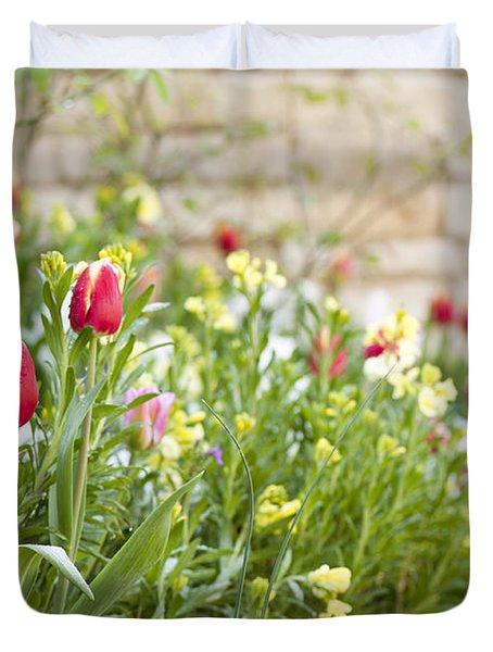 Spring Has Sprung Duvet Cover by Anne Gilbert