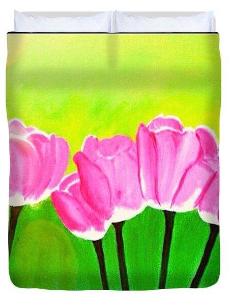 Spring I Duvet Cover