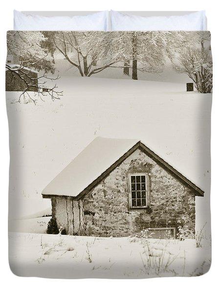 Spring In Boyertown Duvet Cover by Trish Tritz