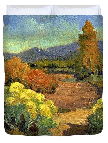 Spring In Santa Fe Duvet Cover