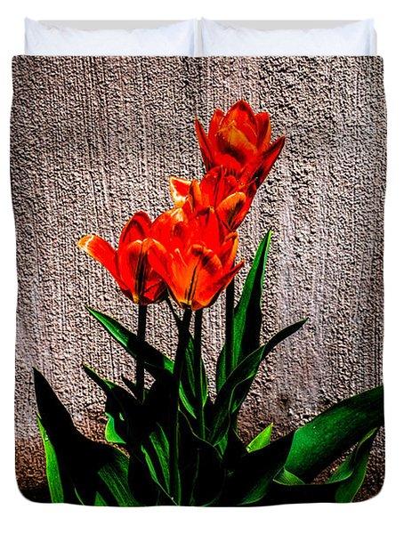 Spring In The City Duvet Cover