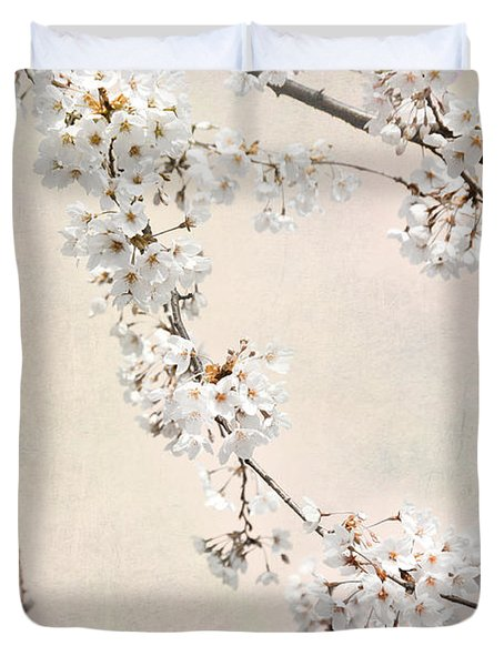 Spring In The City Duvet Cover