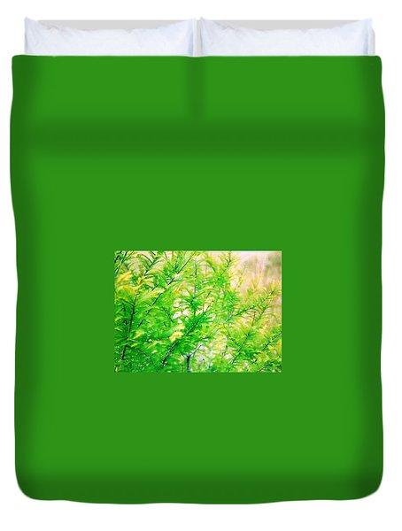 Spring Cypress Beauty Duvet Cover by Belinda Lee